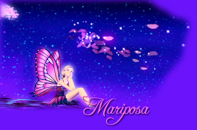 Barbie Mariposa Wallpaper